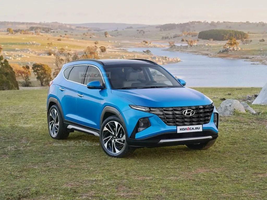 Nuova Hyundai Tucson 2020 svelato il render definitivo
