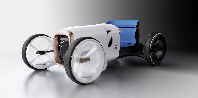 Mercedes-Benz Vision Simplex viaggio nel tempo