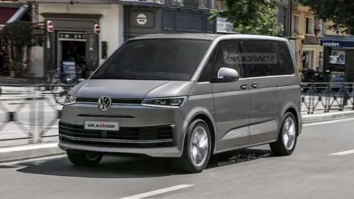 Volkswagen Transporter T7 2021, dati tecnici e Uscita