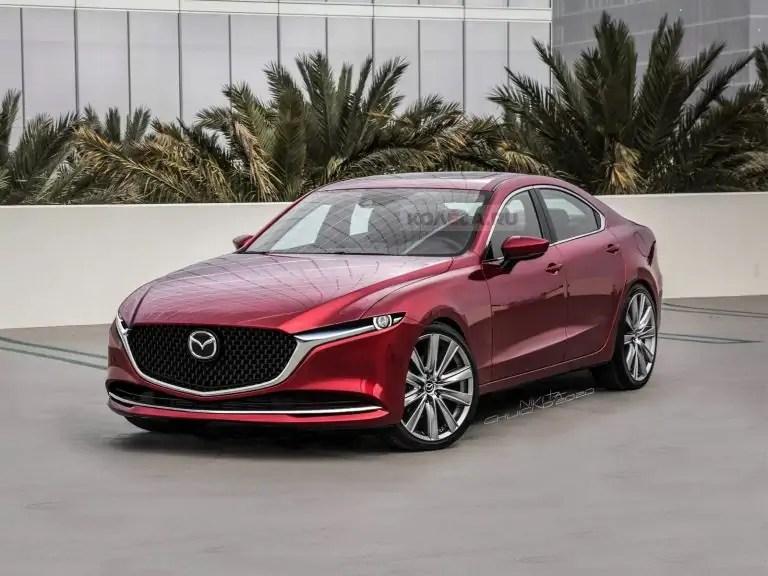 Nuova Mazda 6 2021, il design in Anteprima Rendering ...