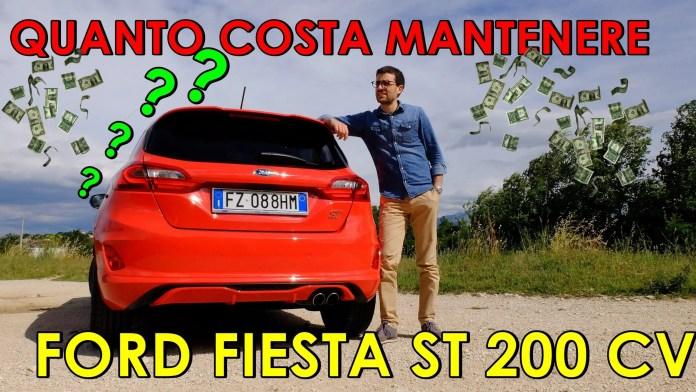 Quanto costa mantenere una Ford Fiesta ST 1.5 200 CV in Italia? [VIDEO]