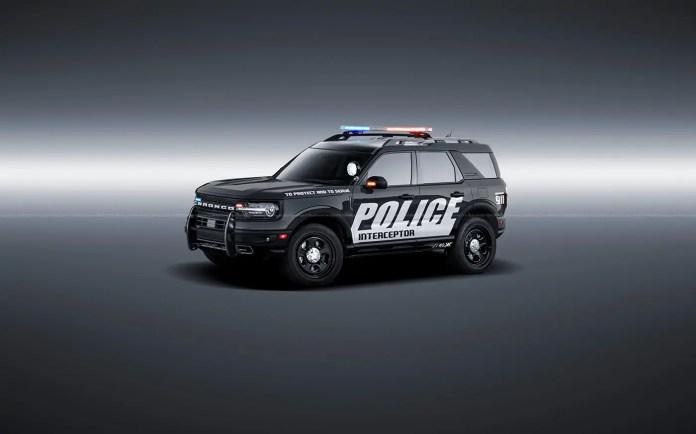 Ford Bronco Interceptor 2021, il Rendering per la Polizia Usa