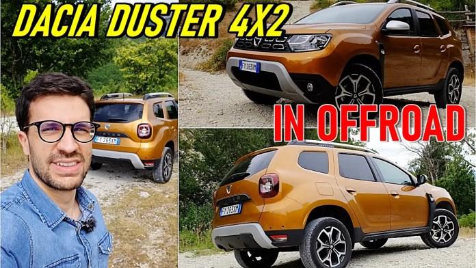 Dacia Duster 1.0 TCe 100 CV, la 4X2 alla prova in fuoristrada.