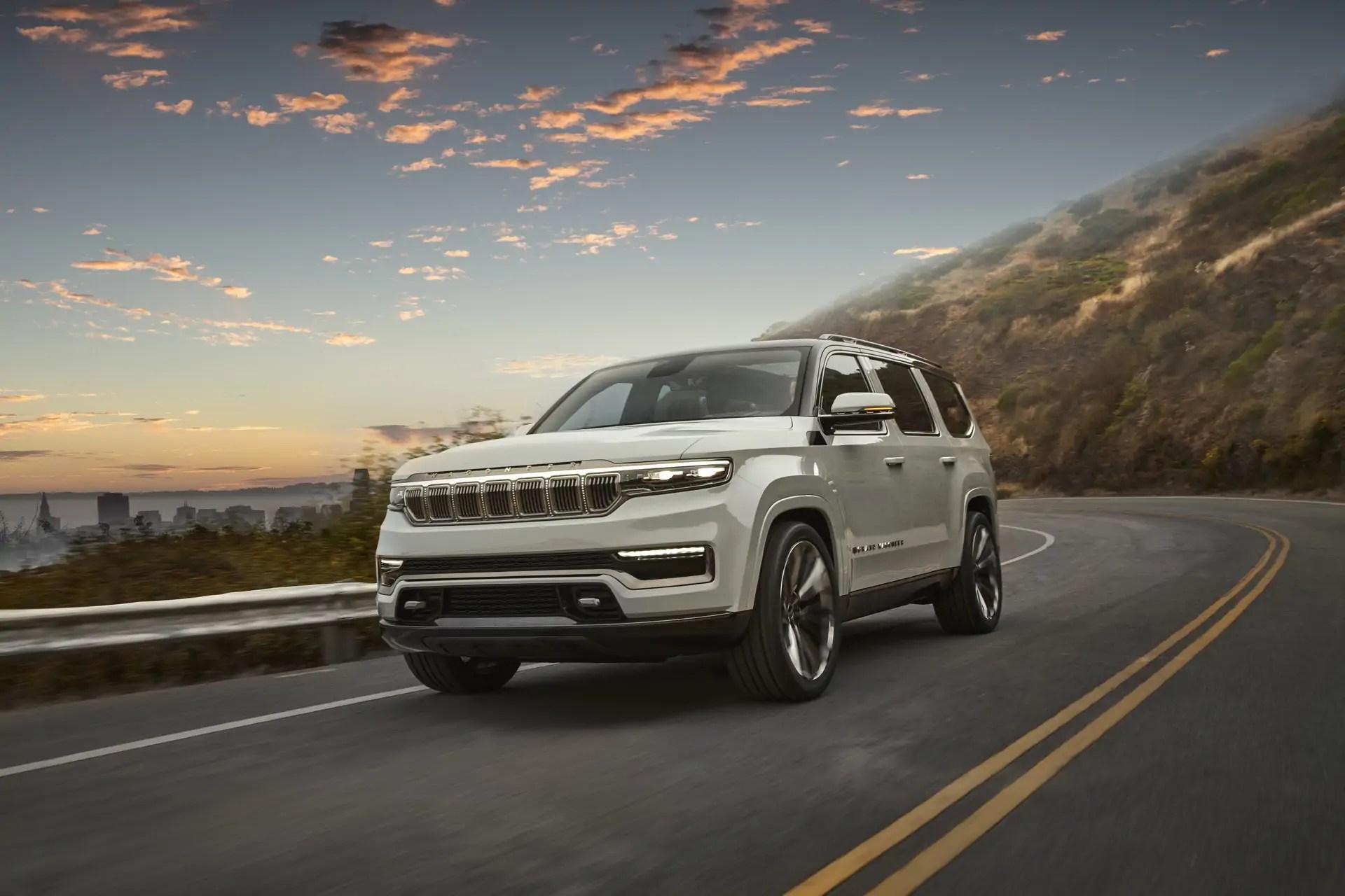 Jeep Grand Wagoneer 2021: il Concept anticipa i SUV premium del futuro