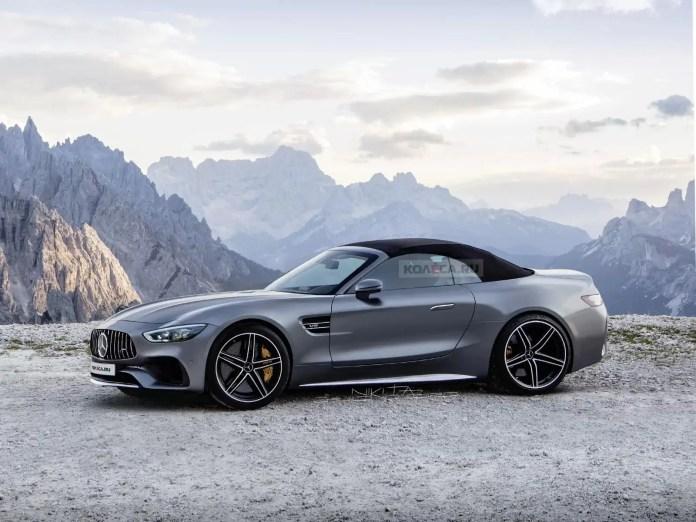 Nuova Mercedes-Benz SL 2021, arrivano i motori elettrici