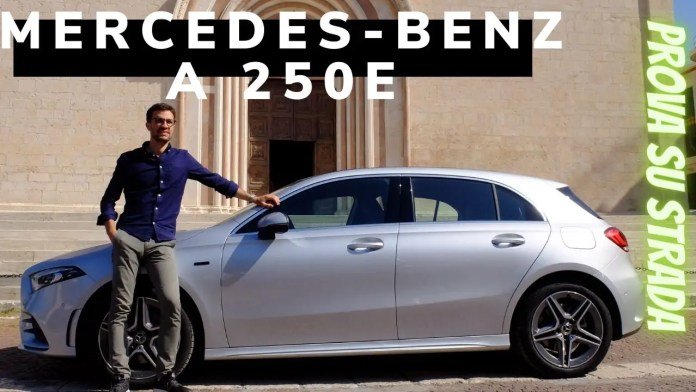 Mercedes-Benz A 250e 218 CV Ibrida Plug-In VIDEO TEST DRIVE