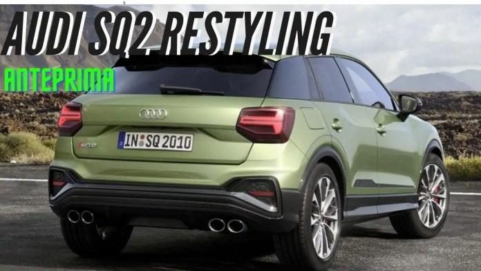 Nuova Audi Q2 2021 ecco la Sportiva SQ2, Dati Tecnici video