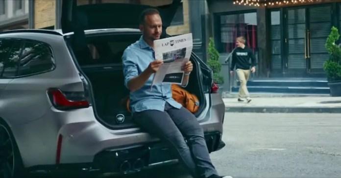 Nuova BMW M3 Touring 2022, teaser a sorpresa [VIDEO]