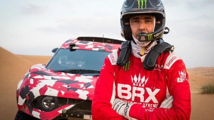Sebastien Loeb alla Dakar con la Prodrive BRX T1