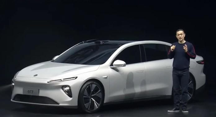 Nuova Nio ET7 2022, la Cina sfida la Tesla Model S