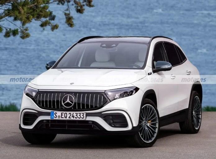 Nuova Mercedes-Benz EQA AMG 2022, il Crossover Sportivo