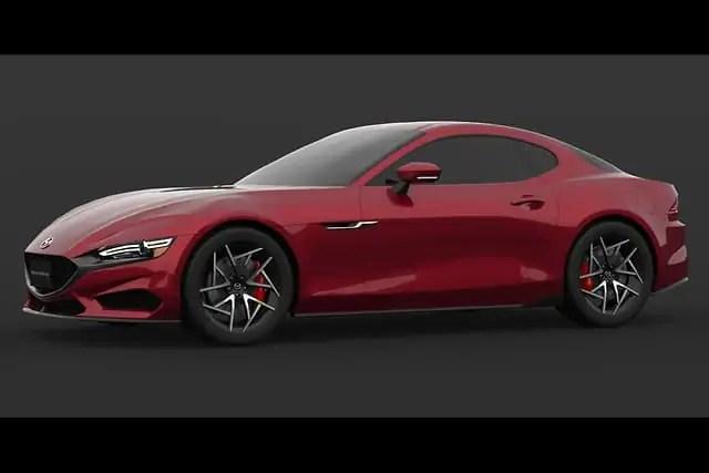 Nuova Mazda RX-7 2023, il Mito in Rendering