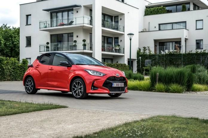 La nuova Toyota Yaris è auto dell'anno 2021