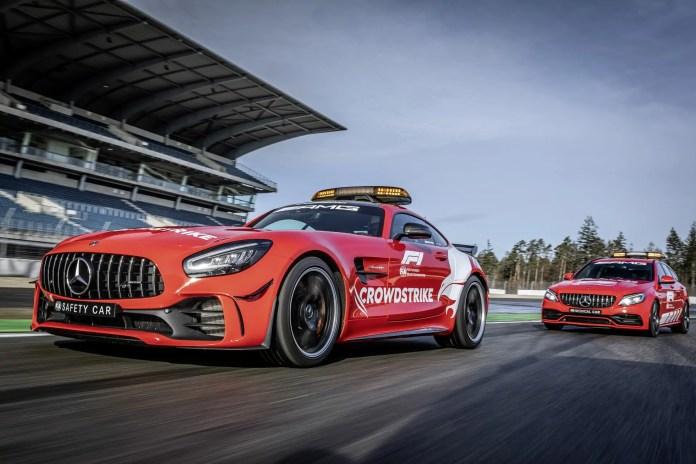 Mercedes-Benz presenta le nuove safety car per la Formula 1