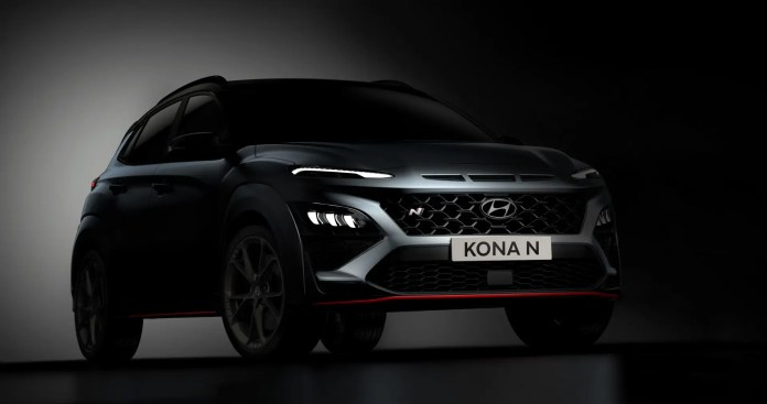 Nuova Hyundai Kona N 2021, il crossover sportivo in Anteprima