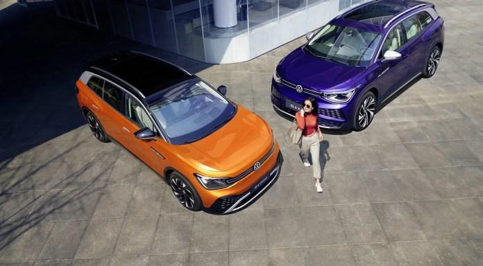 Nuova Volkswagen ID.6 2021, SUV elettrico a 7 posti