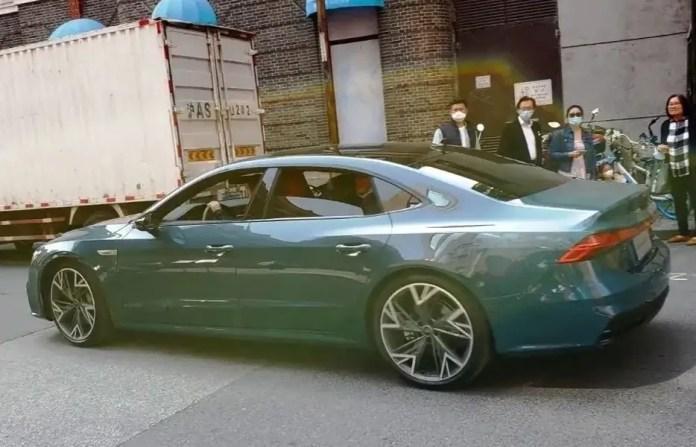 Nuova Audi A7 L 2021, la versione per la Cina