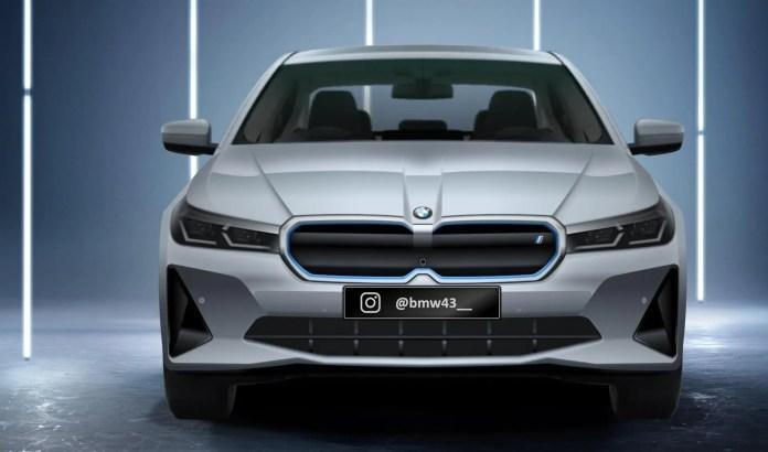 Nuova BMW i5 2023, la Serie 5 100% elettrica