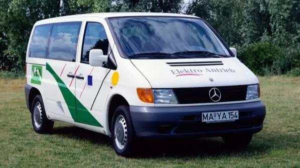 I 25 anni del Mercedes-Benz Vito 108 E, ibrido prima del tempo