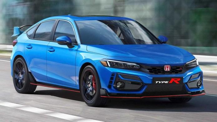 Nuova Honda Civic Typer R 2022, il Rendering in Anteprima