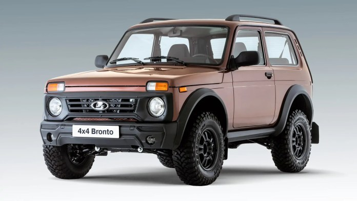 Nuova Lada Nica Bronto 2022, dalla Russia con furore