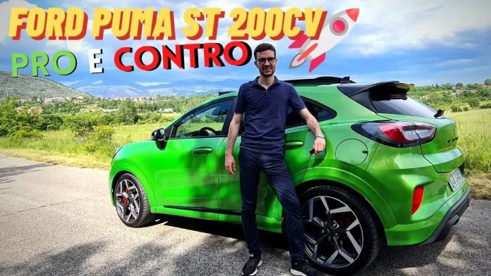 Ford Puma ST 1.5 200CV | PRO & CONTRO dalla prova [VIDEO]