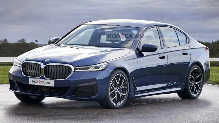 Nuova BMW Serie 5 2023, il Rendering totale
