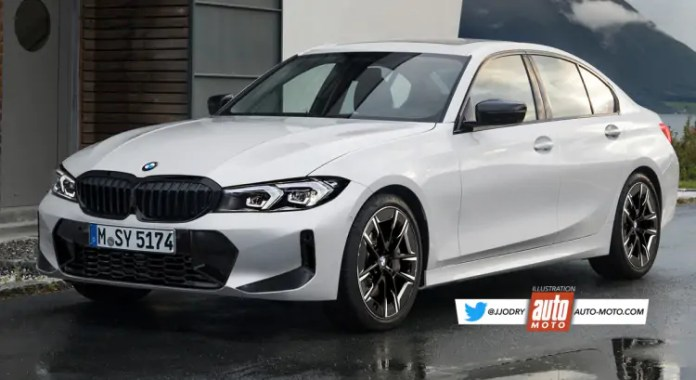 Nuova BMW Serie 3 2022, il Restyling nel Rendering