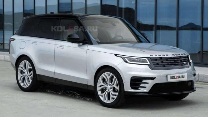Nuova Range Rover Sport 2023, il Rendering in Anteprima