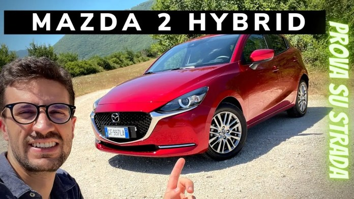 Mazda 2 1.5 Skyactiv-G M Hybrid 90 CV   Prova su strada [VIDEO]
