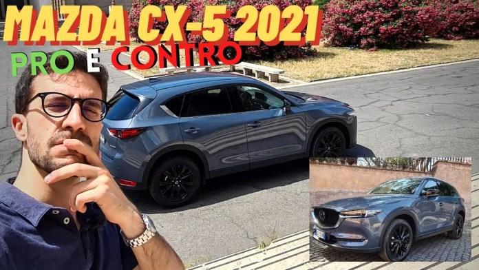 Mazda CX-5 2021 Skyactiv-G Homura   Pro & Conto [VIDEO]