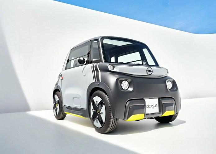 Nuova Opel Rocks-e 2022, la Citroen Ami rinasce