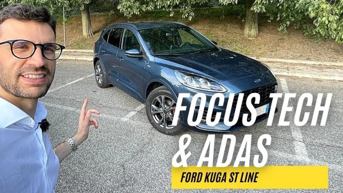 Ford Kuga St Line Full Hybrid  FOCUS Tech & ADAS [VIDEO]