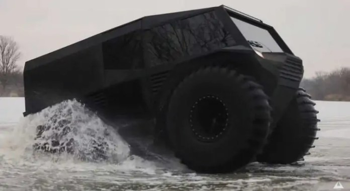 Atlas ATV l'anfibio estremo made in Ucraina [VIDEO]