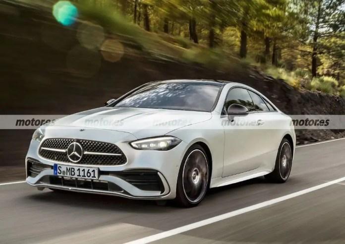 Nuova Mercedes-Benz CLE 2022, il Rendering definitivo