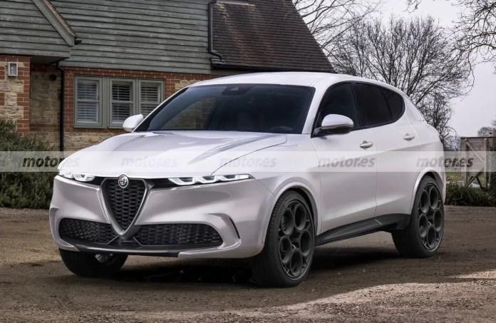 Nuova Alfa Romeo Tonale 2022, Rendering e Anticipazioni del SUV