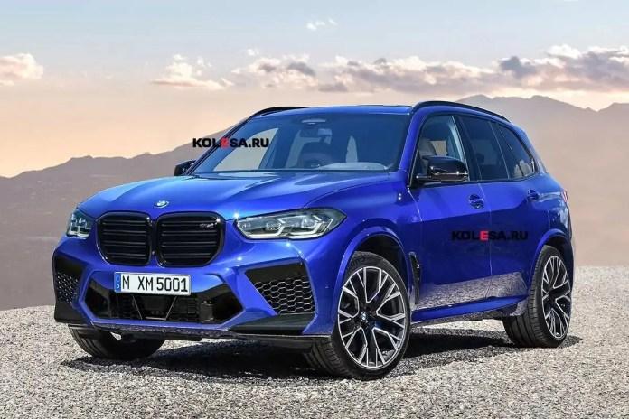 Nuova BMW X5 Competition 2023, Rendering e Anticipazioni