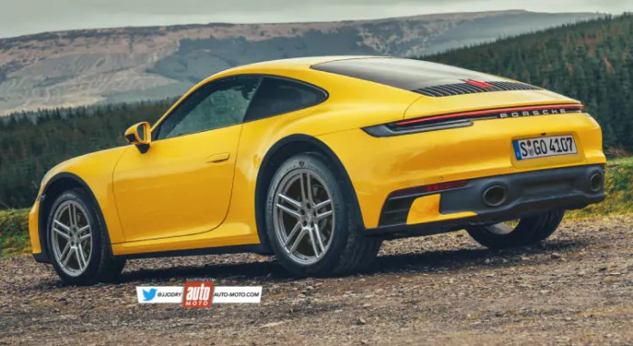 Nuova Porsche 911 Safari 2022, il Rendering in veste SUV