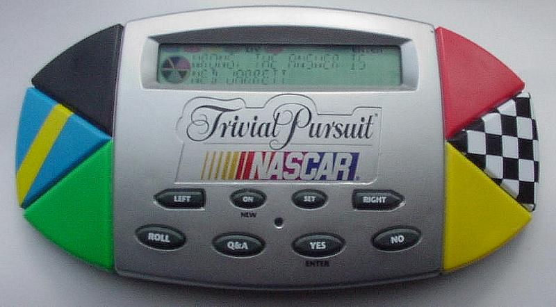Trivial Pursuit Electronic Handheld Game