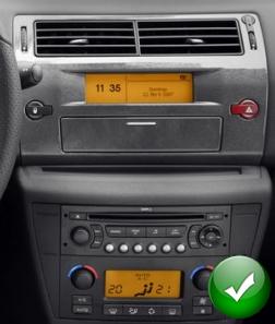 Autoradio DVD Player GPS DVBT 3G WIFI Citroen C4 2004  2011 M0885 : Trova l'auto dei vostri