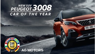 PEUGEOT 3008 Car Of The Year 2017 AG Motors Auto Rebellion