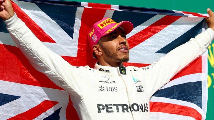Lewis Hamilton 4 Times F1 Champion