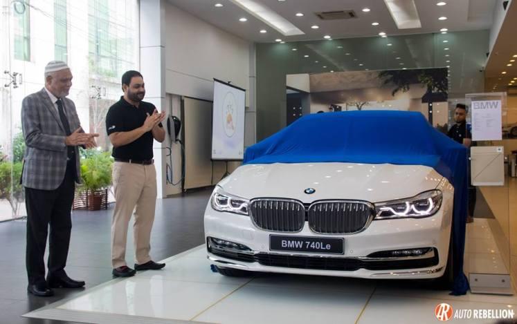 Dewan Muhammad Sajid Afzal, Director Operations, Executive Motors, Ltd. BMW 740Le Unveil