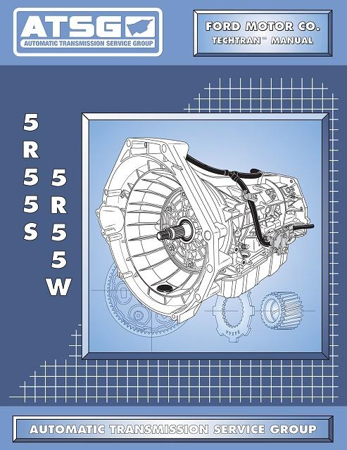 Ford 5r55s 5r55w Transmission Rebuild Manual