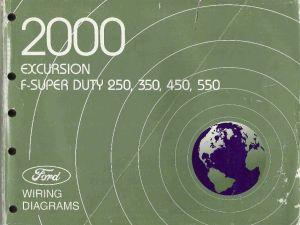 2000 Ford Excursion, F250, F350, F450, F550 & FSuper Duty