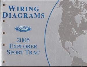 2005 Ford Explorer Sport Trac Wiring Diagram