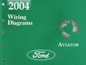 2004 Lincoln Aviator Factory Wiring Diagrams