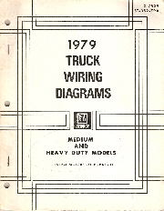 1979 GMC Truck All Medium and Heavy Duty Models  Wiring