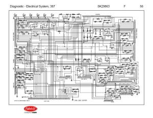 After Oct 14, 2001 5 Peterbilt 387 Complete Wiring Diagram