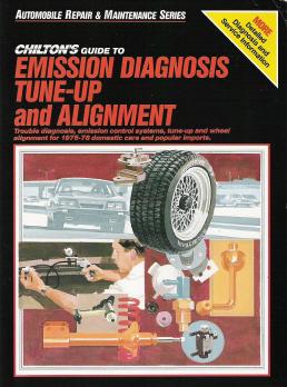 1975  1978 Chilton's Guide to Emission Diagnosis, TuneUp and Alignment  Domestic & Import